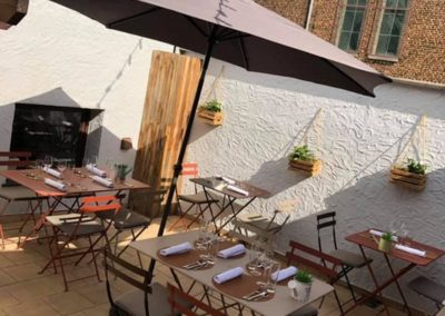 Pré de chez vous restaurant Vedrin terrasse
